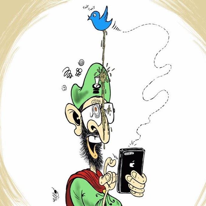 DessinDuJour par khalidgueddar  Quand Twitter recadre le chef dehellip