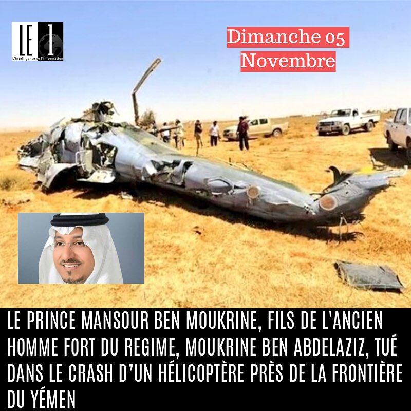 Dcs tragique de Mansour ben Moukrine fils de lancien hommehellip